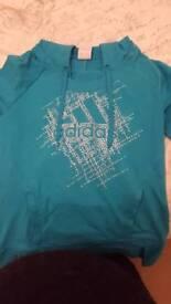 Adidas top/ hoodie