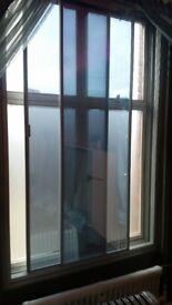 2x secondary glazing units with 2 horizontal sliding panes