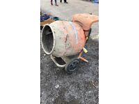 Belle electric cement mixer