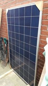 270 Watt Solar Panel Kit New Brackets Charge Controller Suit Camper Van Horsebox Shed Garage