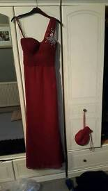 size 8\10 red dress