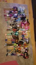 Massive monster high/Ever after high collection