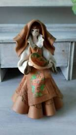 Beautiful handmade sardinian doll