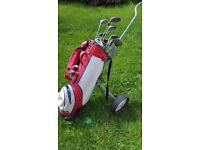 Golf set with trolley bargain price