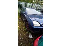Vauxhall vectra body panels.metalic blue.04 reg