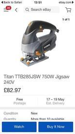 Titan 750w Jigsaw New