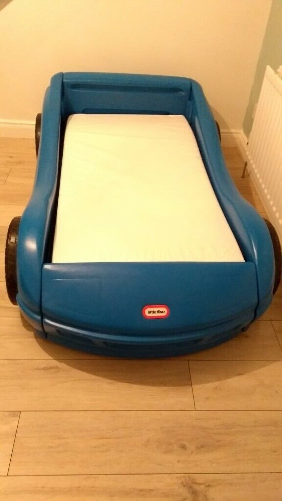 Bed Little Tikes Blue Car Bed In Bangor County Down