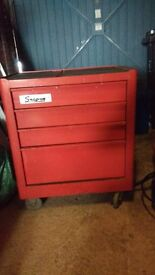 snap on 4 drawer toolbox