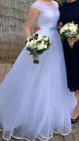 Estelle wedding dress, size 8.