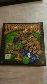 Luchador Mexican dice game.
