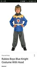 Boys knight costume age 5-6