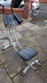 Ab workout machine