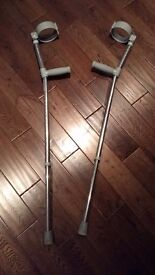 **Free** 1 pair of cructches