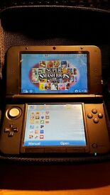 NINTENDO 3DS XL CONSOLE + GAMES - GOOD CONDITION - COMES WITH CARRY CASE