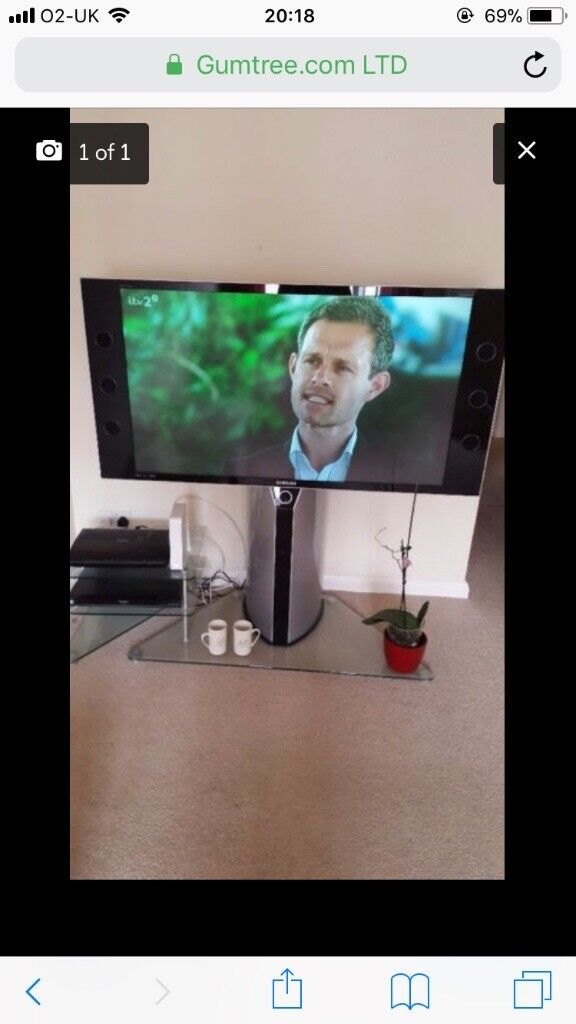 50 inch TV - Need gone as moving and too big!