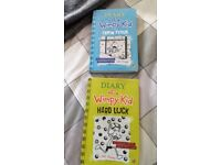 Diary of a wimpy kid books x2