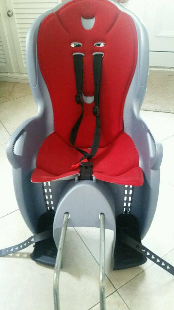 Hamax Kiss kids rear bike seat in excellent condition
