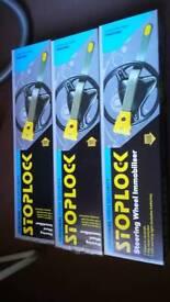 Stoplock steering wheel Immobiliser x3