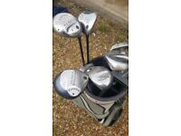 Ladies Golf Clubs Selection Callaway Woods and Irons RH