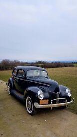 Rare 1940 FORD Sedan PX Considered Classic American Survivor Barn Find Hotrod