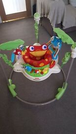Fisher price rainforest jumperoo £25