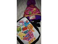 Shopkins Bag & hat