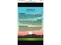Coachella weekend 2 VIP tickets x2