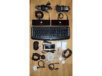 """""""GREAT CONDITION"""" (£60) 2x HP 3005PR USB 3.0 Port Replicator + whole set (valued all more than £200"""