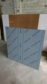 Aluminium sheet splashback