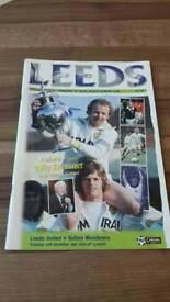 Leeds United matchday programme 1997