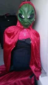 home made Halloween costume 1st prize