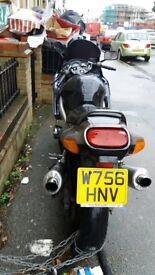 No mot needs back brake has sticky starter motor and general tidy up lovely bike double exhaust