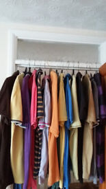 Selection of Men's Clothing from Next & Marks & Spencers T Shirts Jumpers Jackets