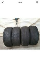 Champiro 205/50/17 XL 8-9mm Tread Winter Tyres Matching Set Of 4 Tyres Like new