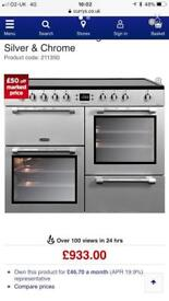 Leisure Cookmaster Range Oven Cooker Electric not gas dual