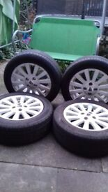 Rover/Mg Alloy Wheels (Great Condition)