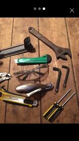 Job lot of tools