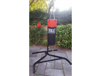 EVERLAST PUNCHBAG AND SPEEDBALL BAG STAND HEAVY DUTY