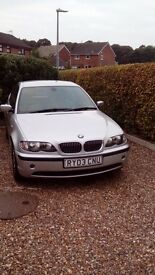 2003 BMW 320D ES Titanium Silver, Lovely Condition Inside and Out