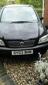 Vauxhall zafia 7 seater mpv