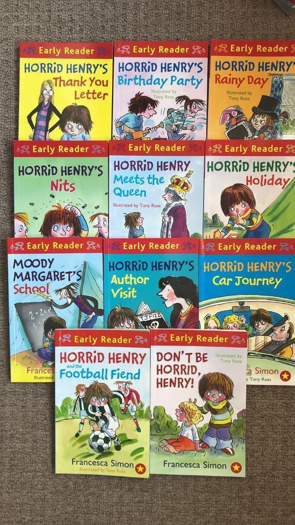 Horrid henry early reader books in leicester leicestershire gumtree horrid henry early reader books expocarfo