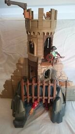 Playmobil Dragon's Castle plus figures