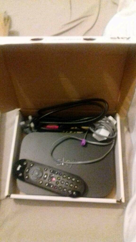 Sky boxesin South YorkshireGumtree - Ovno sky q box sky q mini and Internet cables