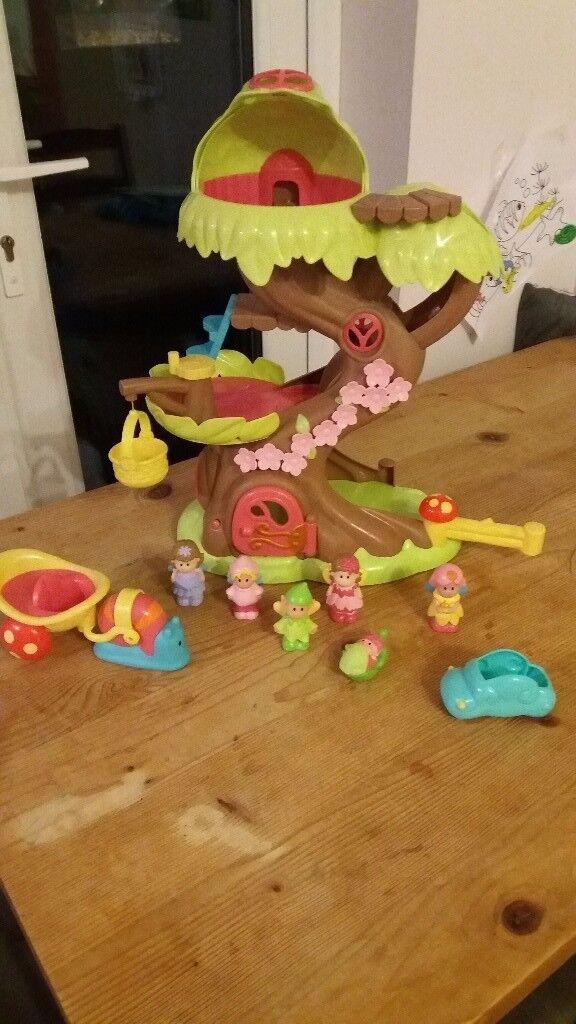 HappyLand Fairy Tree with 5 fairies