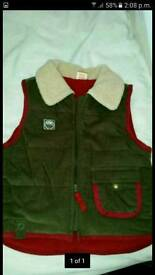 Child's gilet age 1.5 - 2 years. As new.