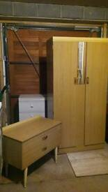 Wardrobe n drawers set