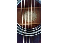 Fender Electro Acoustic Guitar and Soft case