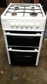 Beko white cooker 50cm gas