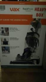New VAX carpet cleaner