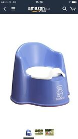 BabyBjorn Potty Chair and Toilet training seat